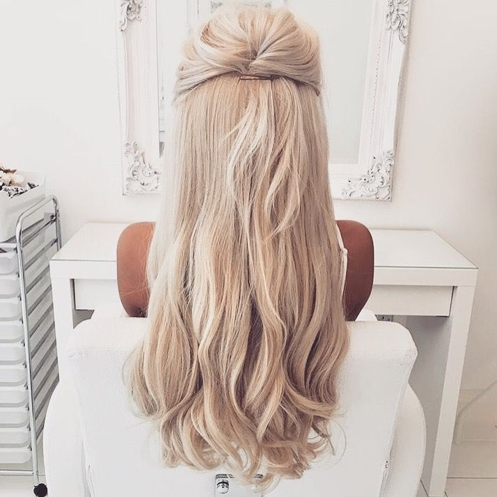 Amazing 1000 Ideas About Blonde Prom Hair On Pinterest Low Messy Buns Short Hairstyles For Black Women Fulllsitofus