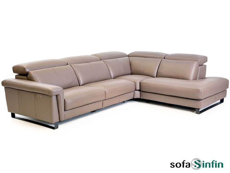 Sofá Chaise Longue Con Relax Modelo Truman Fabricado Por Losbu En  Sofassinfin.es