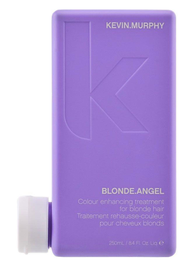 #KevinMurphy #BlondeAngel Treatment. Een heerlijke treatment die gebleekt, gehighlight of grijs haar hydrateert en verzacht, met lavendel en jojoba. Vernieuwt de kleur en repareert koperachtige en vergeelde blonde tinten. #lovekevinmurphy #mooihaar #MHOOM #Amsterdam