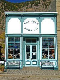 San Juan Soda Company, Lake City, Colorado. Best hand-dipped ice cream ever!