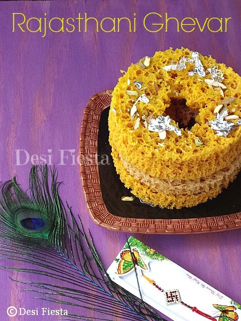 Desi Fiesta : Rajasthani Cuisine - Ghevar