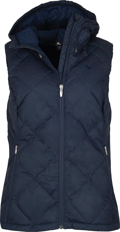 A blend of smart styling and cosy warmth for a range of adventures, the Zenith Down Vest is a versatile outer layer that's perfect for travel and everyday activities. It features stylish diamond quilting and is filled with cosy 600 loft duck down, providing excellent warmth. It features zippered hand warmer pockets, an adjustable hem draw cord and a separate stuff sac for easy, compact storage.