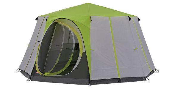 Coleman Cortes Octagon 8 Person Tent Green