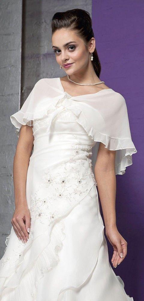 Braut Stola Umhang aus Chiffon $327.99 Brautjacken / Bolero / Stola