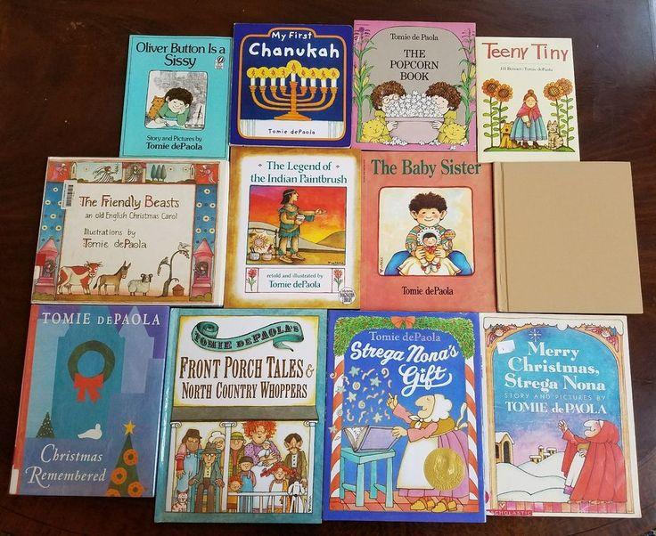 Lot of 12 TOMIE DePAOLA Picture Books Indian Paintbrush Strega Nona's Gift