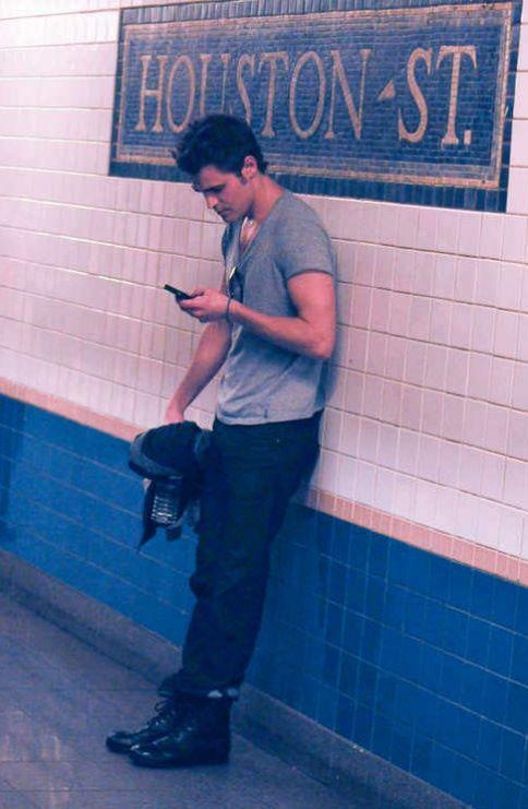 I wish I could just pass Paul Wesley on the street like this.... and then i would kidnap him..