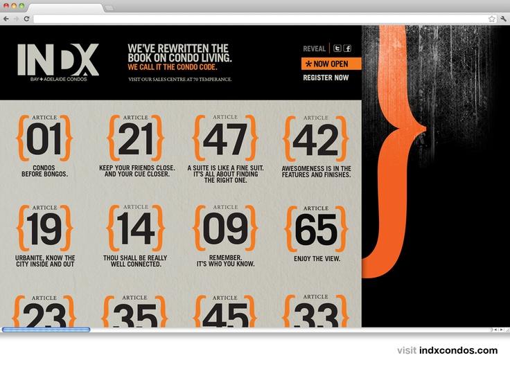 INDX website