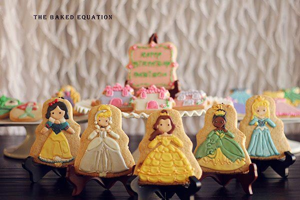 PRINCESAS DISNEY COOKIES