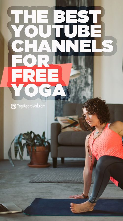 18 YouTube Channels We Recommend for Free Yoga Videos | yoga