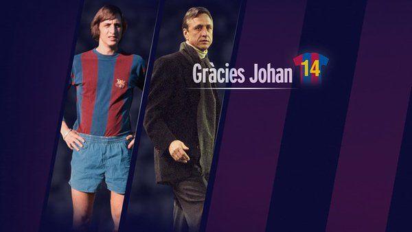 Thanks, Johan / Gràcies Johan / Gracias, Johan #FCBarcelona #JohanCruyff #Cruyff #FansFCB #Football #FCB