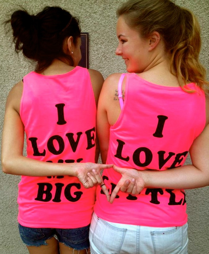 big/lil supa cutee: 667810 Pixel, Pictures Ideas, Big/Littl Sorority Shirts, Ideas For Sorority Little, Future, Cute Ideas, Tanks Tops, Big Little Shirts, Cute Pictures