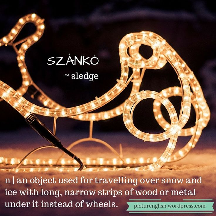 Sledge / Szánkó
