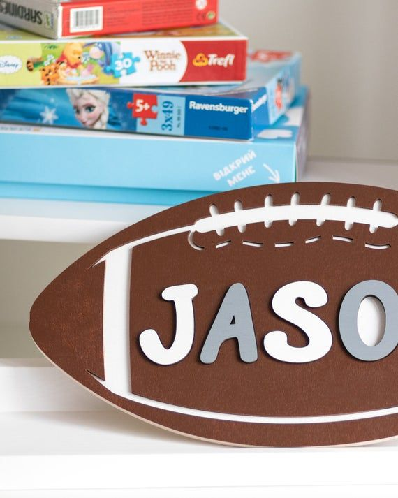 Wooden Name Puzzle Boy 1st Birthday Gift Wood Toy