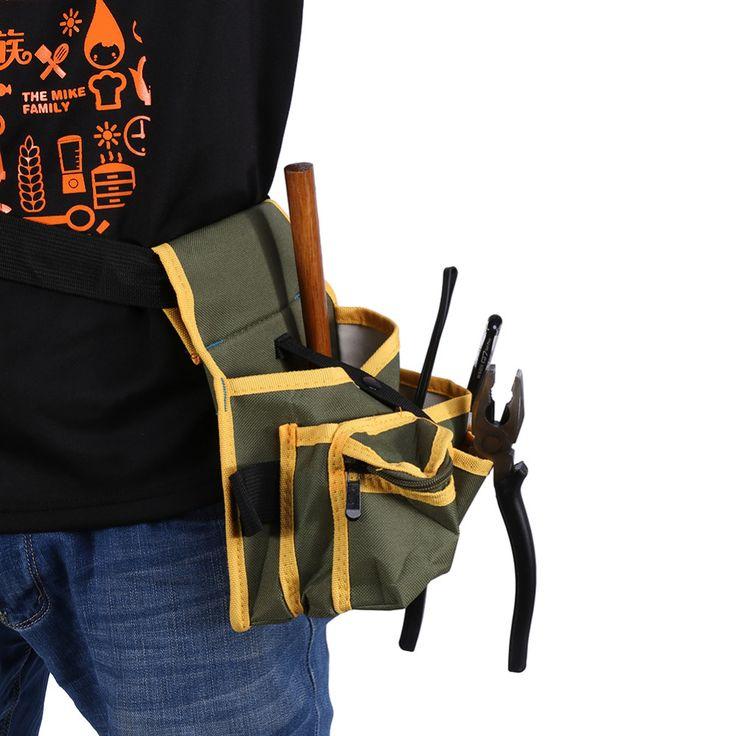 Múltiples Pocket Bolsa Bolsa con Correa de Hardware del Mecánico Electricista Paquete De Herramientas