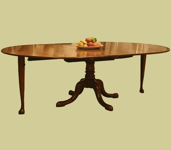 17 Best Images About Oak Dining Tables Reproduction On Pinterest Oval Dini