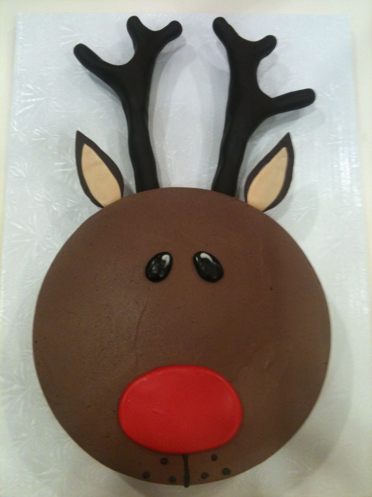 images reindeer birthday cake - Google Search