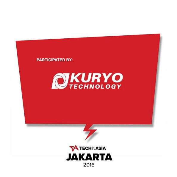 "November 16-17th, 2016 - Balai Kartini Convention Hall.  Kuryotech Indonesia participated in ""Tech in Asia Jakarta 2016"" hold by Tech in Asia - one of the largest media, events, and jobs platforms for Asia's tech communities. The event is the 5th edition of Tech in Asia's signature international tech conference; whereby our Company got the opportunities to network, share, and obtain valuable tech industry specific insight and 2017 outlook with other developers, startups, corporations…"