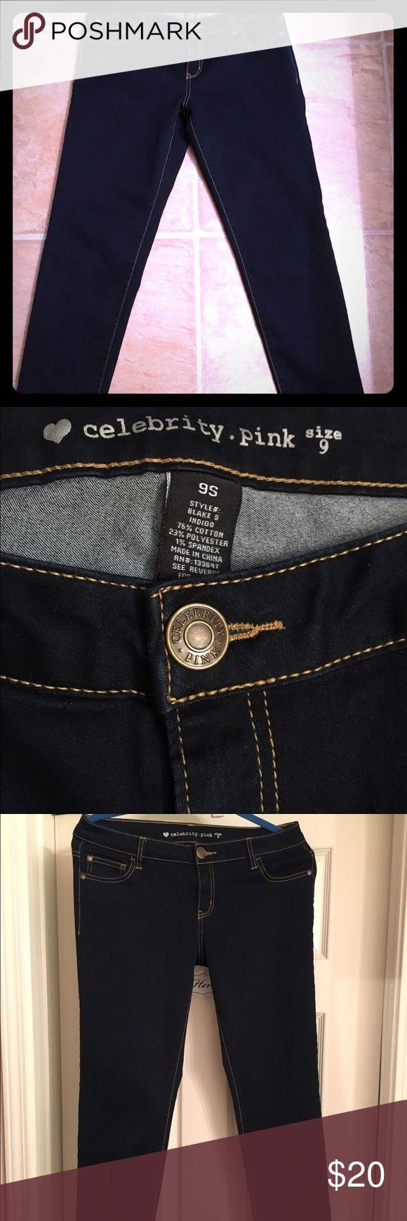 ❣️NEW LISTING ❣️Dark indigo stretch slim jeans Brand new slim stretch jeans, dark indigo, junior size. Pants Skinny