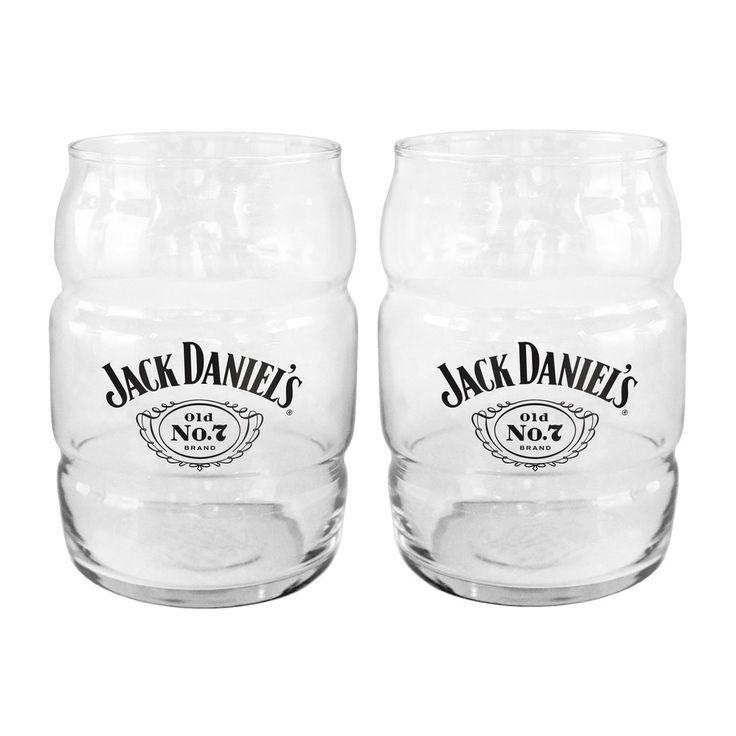 Jack Daniels Glass - Barrel Glass - 16 oz  new