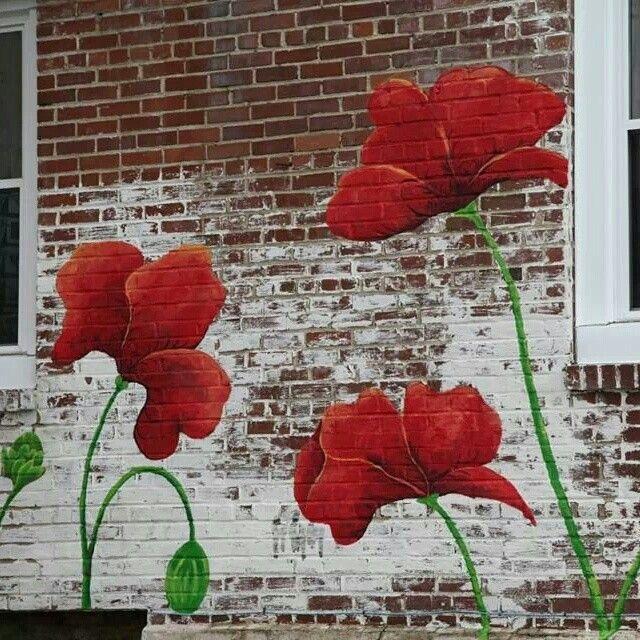 Mural...poppies