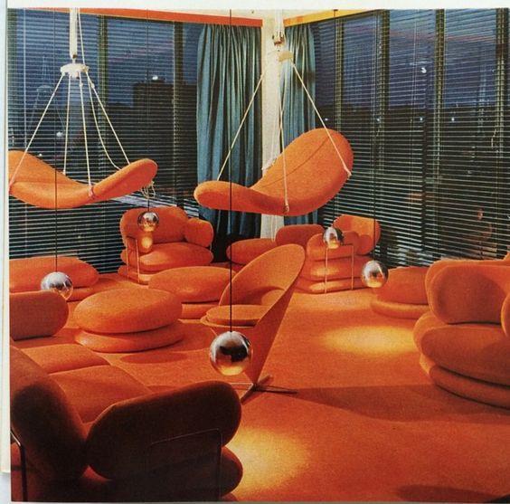 Interior Design By Retro Interiors: 313 Best Retrofuturistic Interiors Images On Pinterest