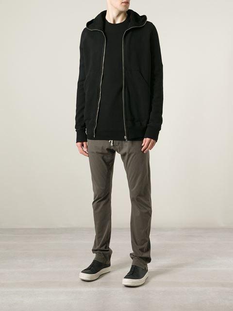 DRKSHDW Gimp full zip hoodie