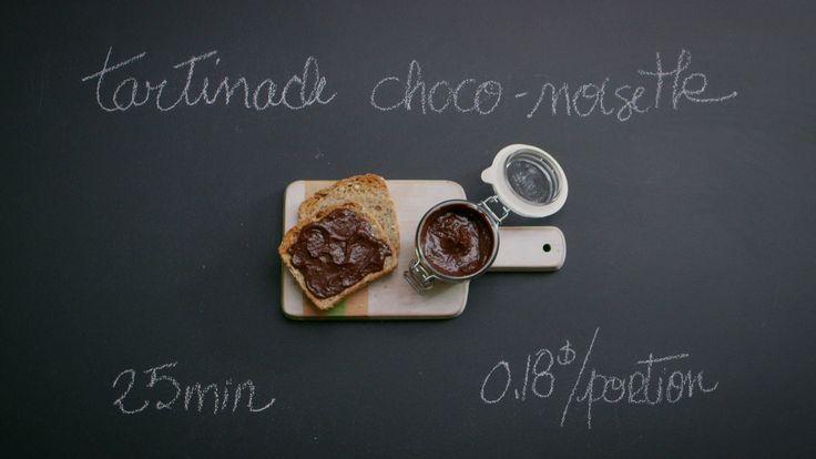 Tartinade choco-noisettes maison