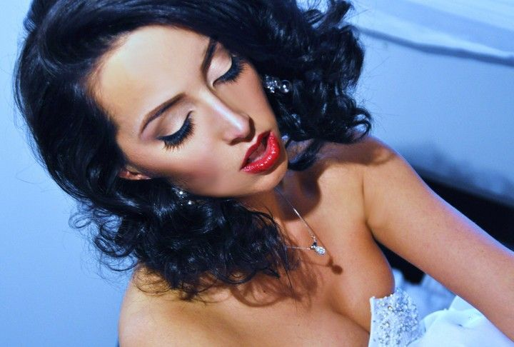 Elegant Dramatic Bridal Makeup by Charlene Armstrong | New Rochelle, NY