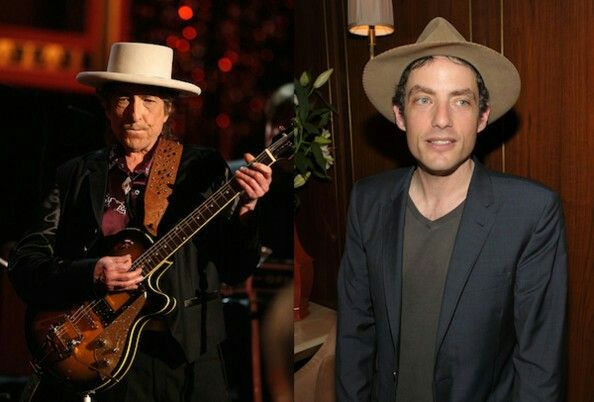Bob and Jakob Dylan