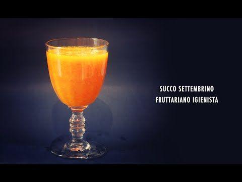 Succo Settembrino - Ricetta Fruttariana Igienista - Semplice e Veloce   #raw #rawfood #crudismo #juice #succo #succhi #juices #recipe #ricette #cucina #cucinabioevolutiva