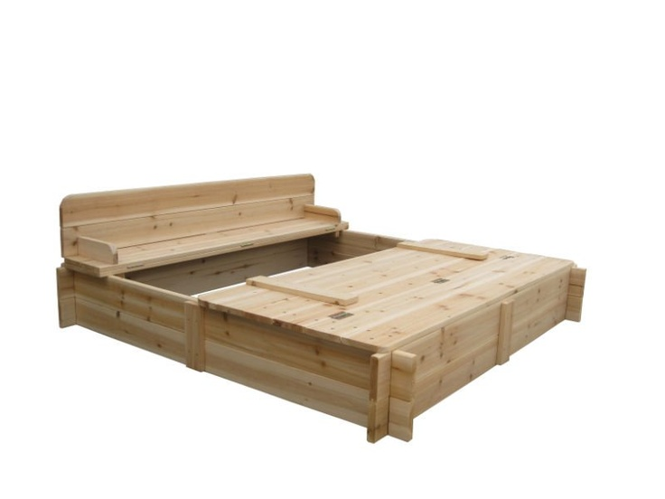 Sandbox Design Ideas deluxe diy sandbox Wood Sandbox Covers