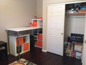 Packing station and other tips for organizing a home office