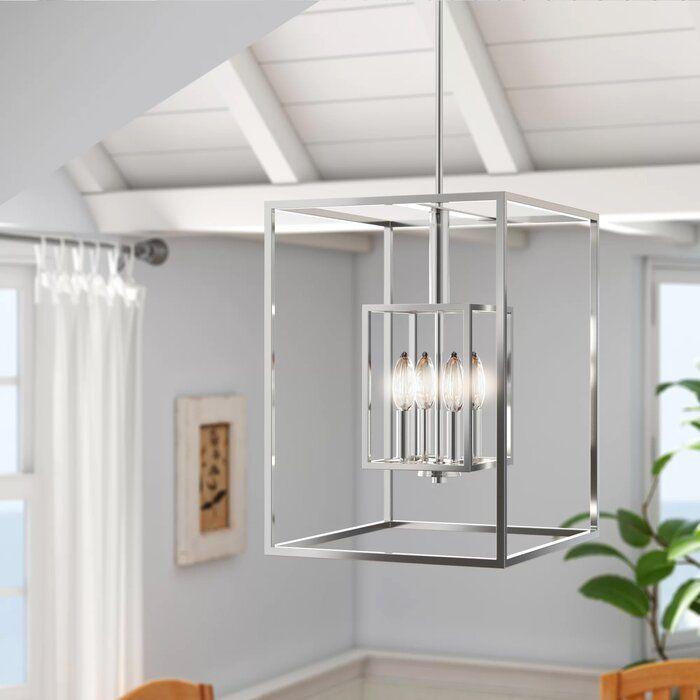 Heinemann 4 Light Single Square Pendant In 2020 Lanterns