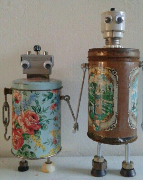 Diy robots by Linda van Deursen