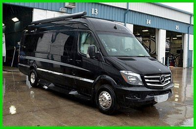 2014 Winnebago Era 170A Class B Diesel Mercedes Rv Black Full Paint Motorhome High End Coach Camper for sale in North Tonawanda New York - United States
