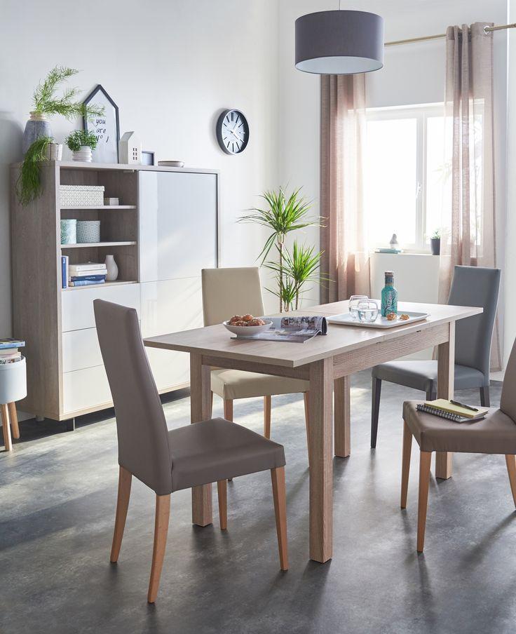 Best Salle à Manger Images On Pinterest Home Decor Chairs - Table laque blanc alinea pour idees de deco de cuisine