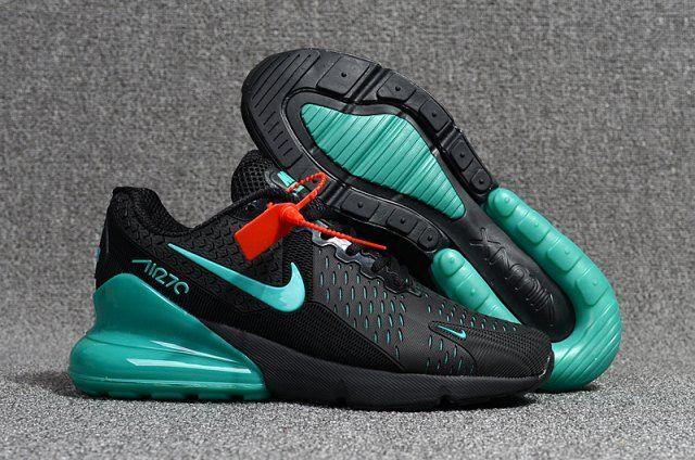 Men S Nike Air Max Flair 270 Kpu Black Hyper Jade Boys Running Shoes Nike001382 Nike Air Max Nike Shoes Air Max Wholesale Nike Shoes