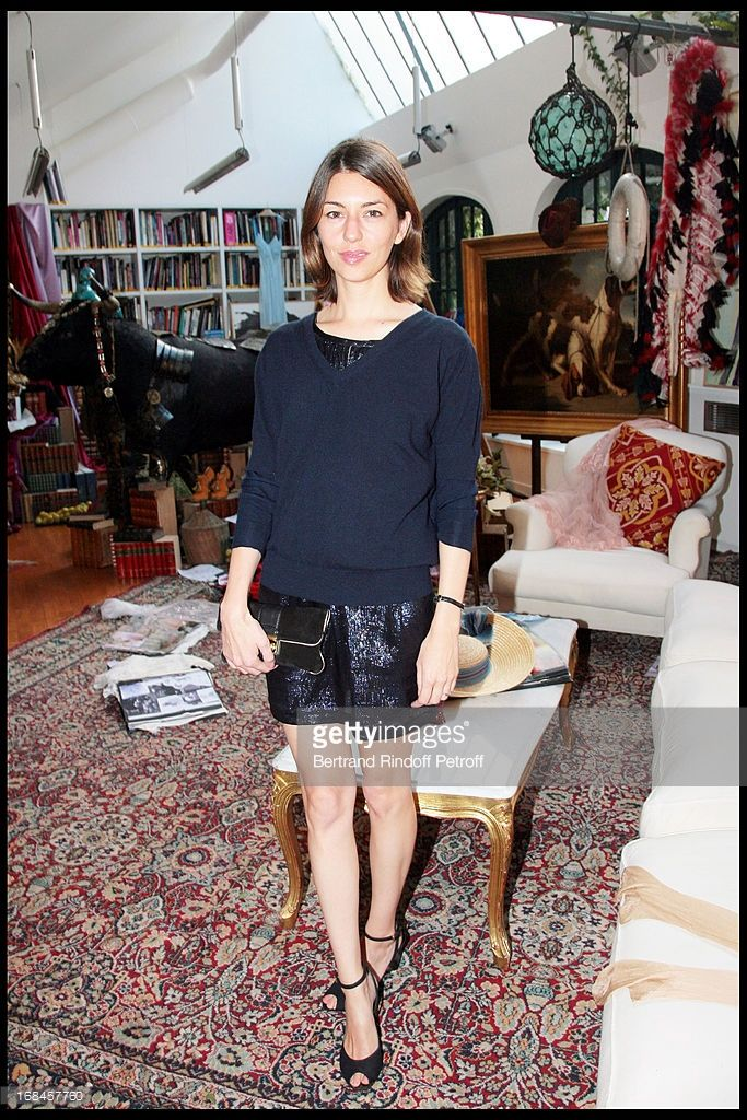 Sofia Coppola at Launch Of John Galliano's New Fragrance 'Number 1' In Paris .