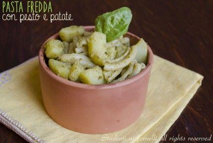 pasta fredda patate e pesto ricetta insalata di pasta estiva