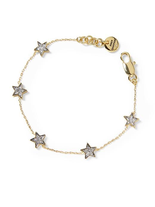 Juicy Couture Tiny Star Bracelet #Refinery29