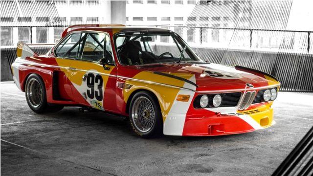 Alexander Calder BMW car art
