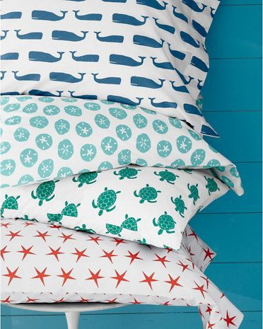 Mini-Print Percale Bedding.  http://www.garnethill.com/mini-print-percale-bedding/bedding-bath/event1/221436