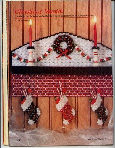 Christmas Mantel 1/3
