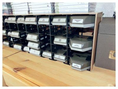 Stampin and More: DIY punch storage /Aufbewahrung für Stanzer from Ikea