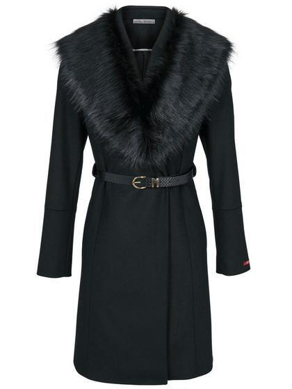 86d2af3dcea1 heine TIMELESS Vlnený kabát s kašmírom