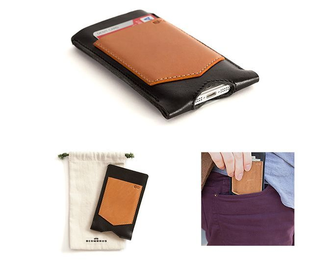 Beamhaus iPhone 5 Leather Sleeve With Credit Card Pocket http://coolpile.com/gear-magazine/beamhaus-iphone-5-leather-sleeve-with-credit-card-pocket/ via CoolPile.com - $59.99 -  Cool, Gifts For Her, Gifts For Him, GriffinTechnology.com, iPhone, iPhone Case, Leather