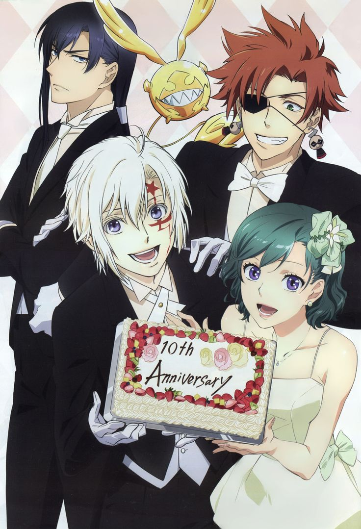 kanda, lavi, allen y lenalee | D.gray-man | Pinterest | Anime art and Anime boys