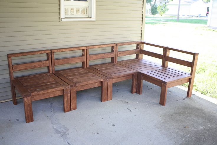 Cheap Patio Furniture Plans We are SO ready for summer! :)