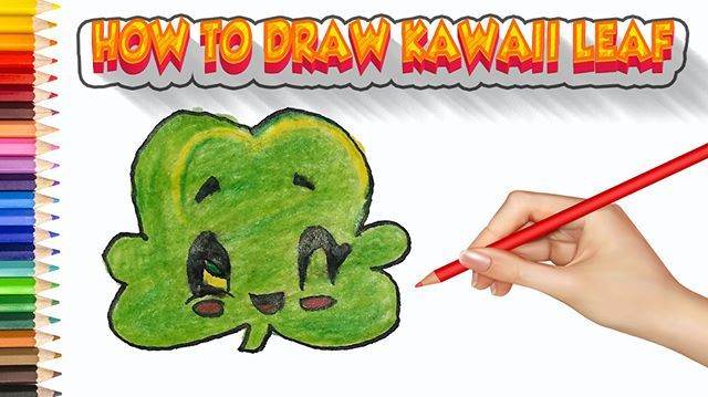 Leaf Drawings Step By Step | Easy Drawing For Kids