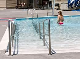 17 best images about pool access ramps on pinterest - Swimming pool wheelchair lift law ...